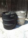 Hausmarke Schwarz 30 Liter Fass